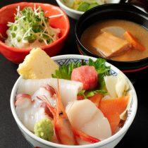 北海海鮮丼