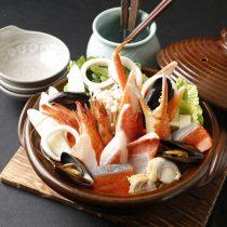 北海海鮮贅沢浜鍋