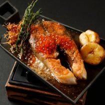鮭の香草焼き