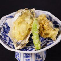 生牡蠣の天ぷら