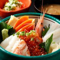 贅沢海鮮丼